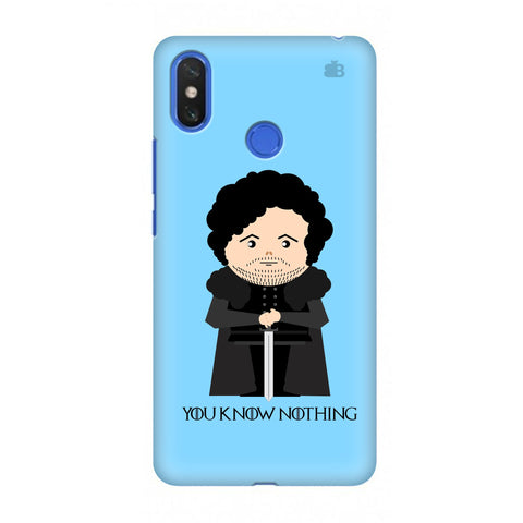 You Know Nothing Xiaomi Mi Max 3 Cover