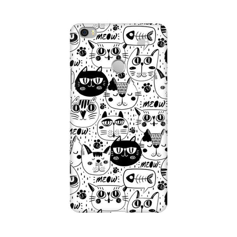 Cute Cats Pattern Xiaomi Mi Max Phone Cover