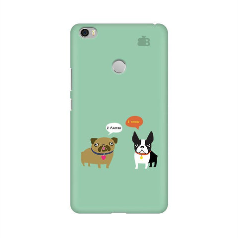 Cute Dog Buddies Xiaomi Mi Max Phone Cover