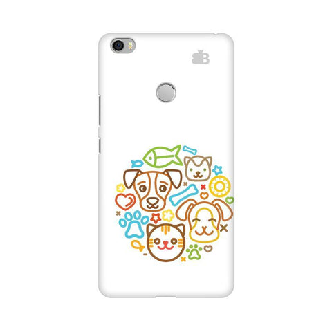 Cute Pets Xiaomi Mi Max Phone Cover