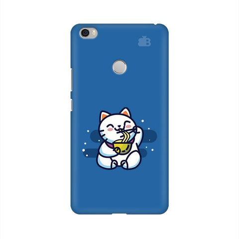 KItty eating Noodles Xiaomi Mi Max Phone Cover
