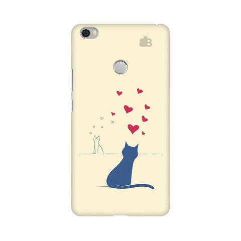 Kitty in Love Xiaomi Mi Max Phone Cover