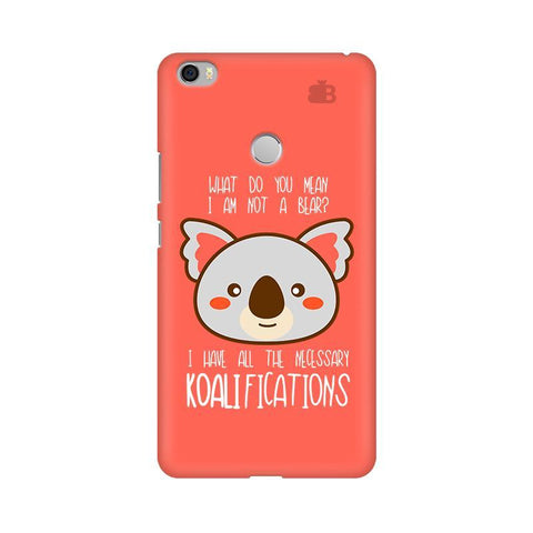 Koalifications Xiaomi Mi Max Phone Cover