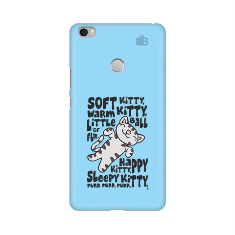 Soft Kitty Xiaomi Mi Max Phone Cover