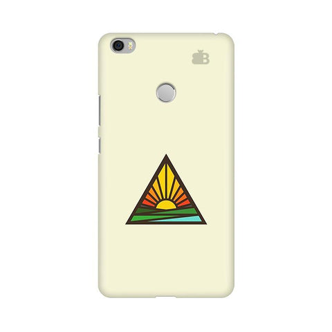 Triangular Sun Xiaomi Mi Max Phone Cover