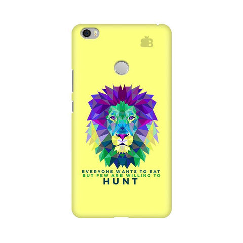 Willing to Hunt Xiaomi Mi Max Phone Cover