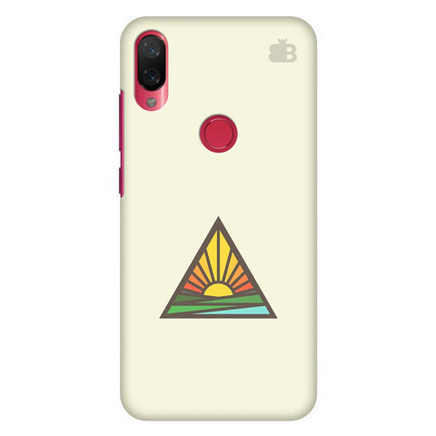 Triangular Sun Xiaomi Mi Play Cover