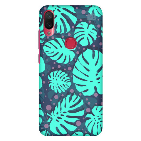Tropical Leaves Pattern Xiaomi Mi Play Cover