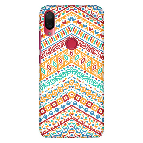 Wavy Ethnic Art Xiaomi Mi Play Cover