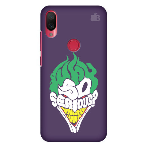 Why So Serious Xiaomi Mi Play Cover