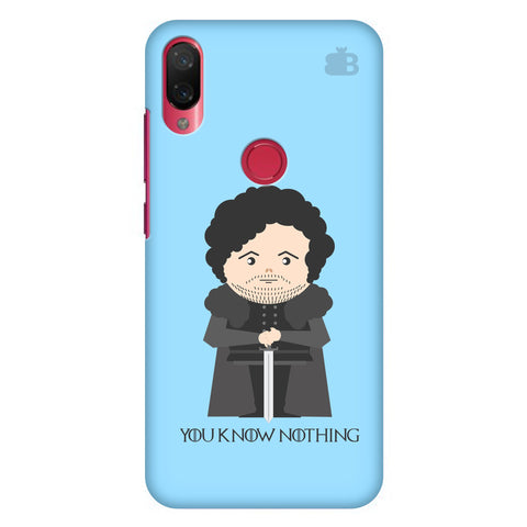 You Know Nothing Xiaomi Mi Play Cover