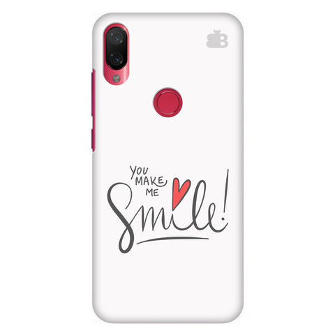 You make me Smile Xiaomi Mi Play Cover