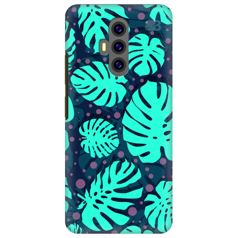 Tropical Leaves Pattern Xiaomi Poco F2 Cover
