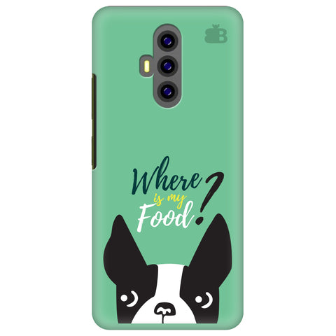 Where is my Food Xiaomi Poco F2 Cover