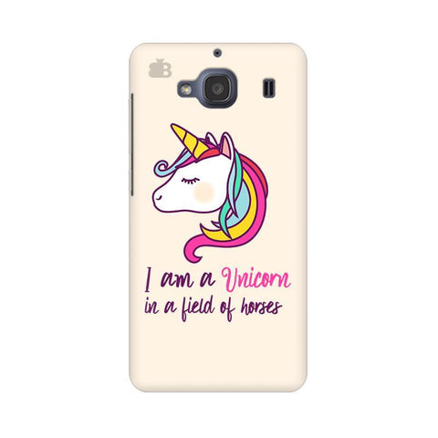 Unicorn in Horses Xiaomi Redmi 2s Phone Cover