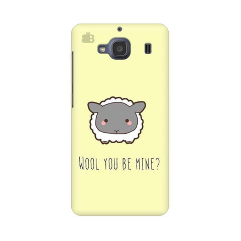 Wool Xiaomi Redmi 2s Phone Cover