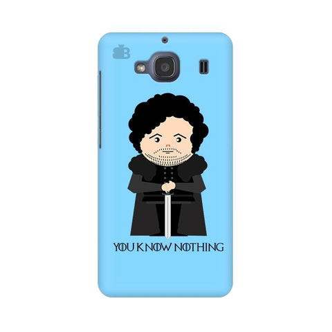 You Know Nothing Xiaomi Redmi 2s Phone Cover
