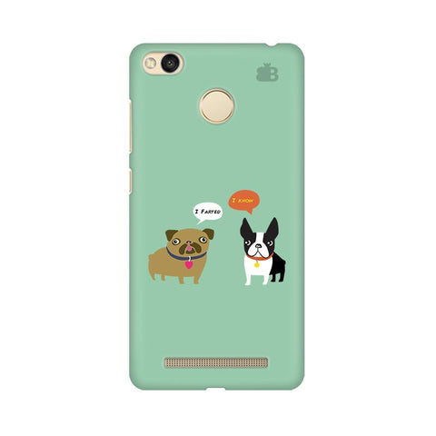 Cute Dog Buddies Xiaomi Redmi 3s Prime Phone Cover