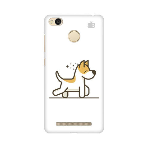 Happy Puppy Xiaomi Redmi 3s Prime Phone Cover
