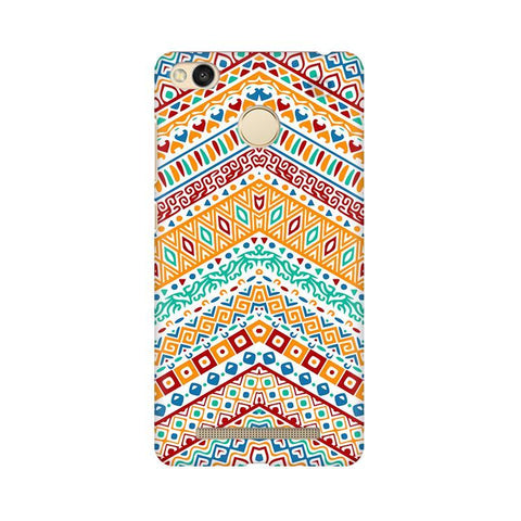 Wavy Ethnic Art Xiaomi Redmi 3s Prime Phone Cover