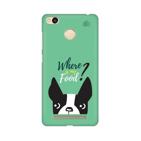 Where is my Food Xiaomi Redmi 3s Prime Phone Cover