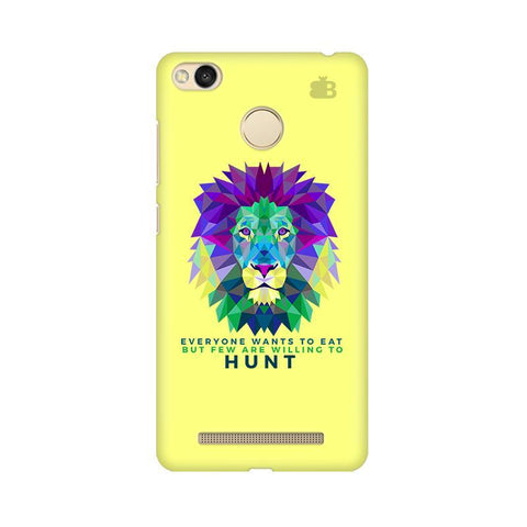 Willing to Hunt Xiaomi Redmi 3s Prime Phone Cover
