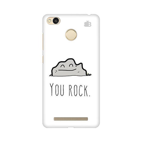 You Rock Xiaomi Redmi 3s Prime Phone Cover