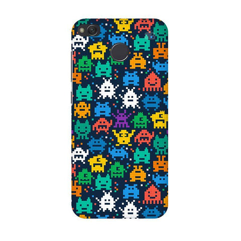 16 Bit Pattern Xiaomi Redmi 4 Phone Cover