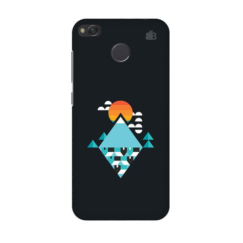 Abstract Mountains Xiaomi Redmi 4 Phone Cover