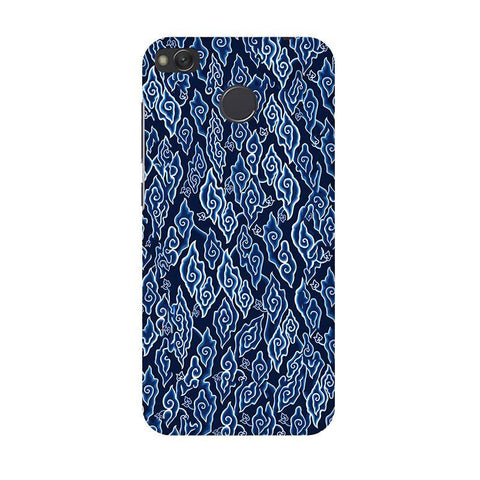Blue Batic Art Xiaomi Redmi 4 Phone Cover