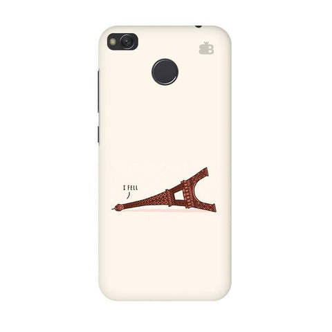 I Fell Xiaomi Redmi 4 Phone Cover