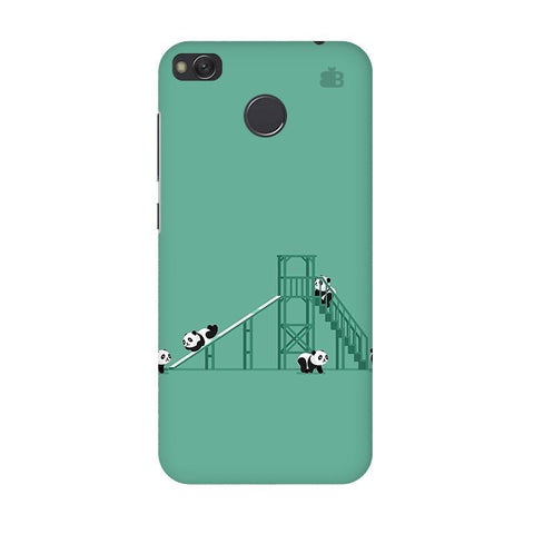 Pandas Playing Xiaomi Redmi 4 Phone Cover