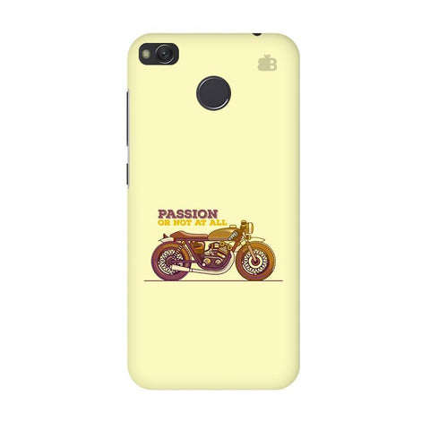 Passion for Motor Xiaomi Redmi 4 Phone Cover