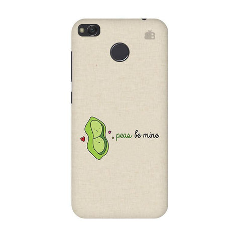 Peas be mine Xiaomi Redmi 4 Phone Cover