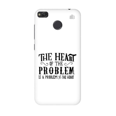 Problem of the Heart Xiaomi Redmi 4 Phone Cover