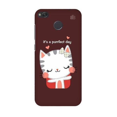 Purrfect Day Xiaomi Redmi 4 Phone Cover