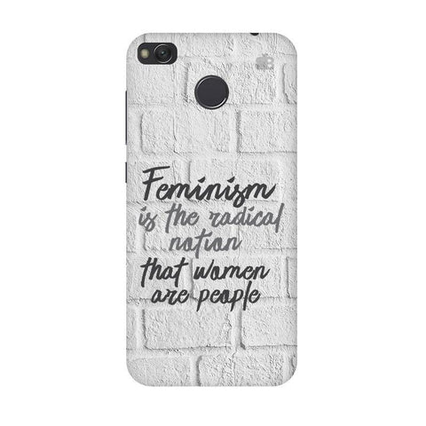Radical Feminism Xiaomi Redmi 4 Phone Cover