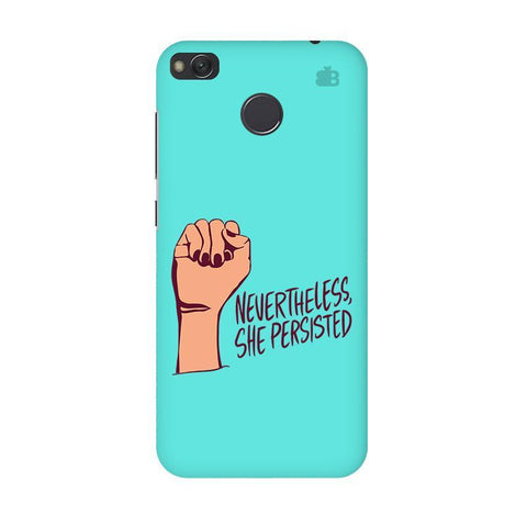 She Persisted Xiaomi Redmi 4 Phone Cover
