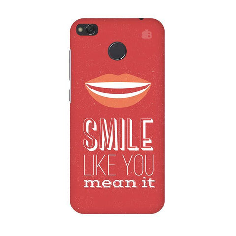 Smile Xiaomi Redmi 4 Phone Cover