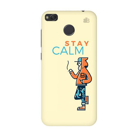 Stay Calm Xiaomi Redmi 4 Phone Cover