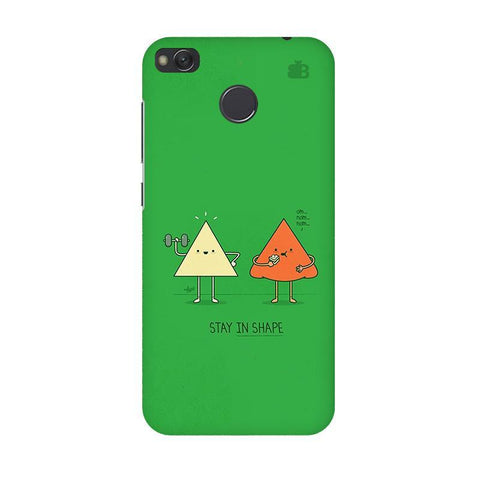 Stay in Shape Xiaomi Redmi 4 Phone Cover