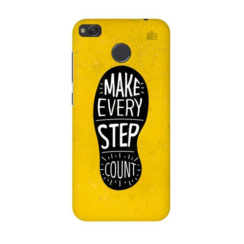 Step Count Xiaomi Redmi 4 Phone Cover