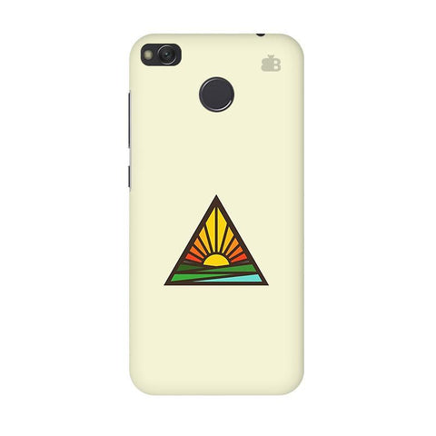 Triangular Sun Xiaomi Redmi 4 Phone Cover