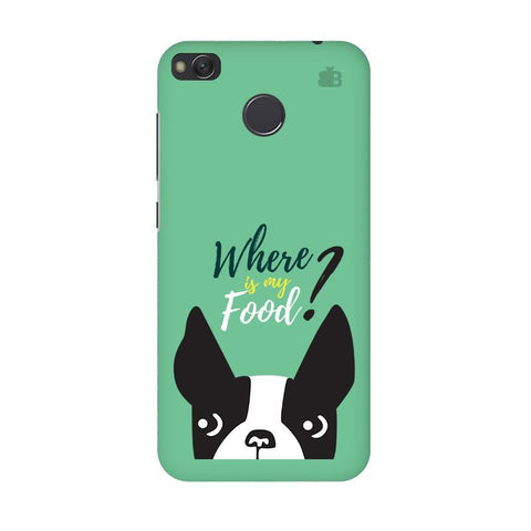 Where is my Food Xiaomi Redmi 4 Phone Cover