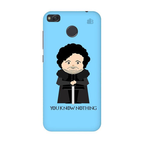 You Know Nothing Xiaomi Redmi 4 Phone Cover