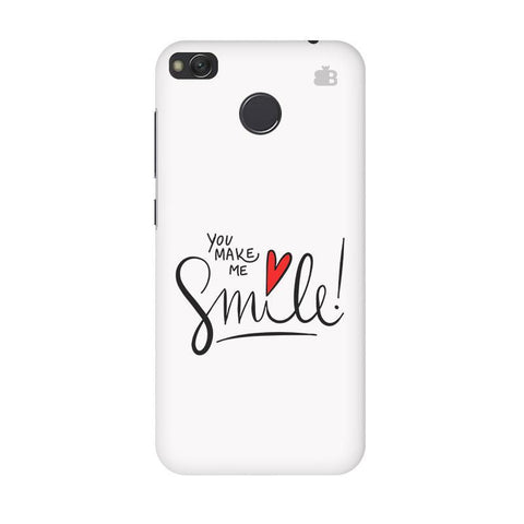You make me Smile Xiaomi Redmi 4 Phone Cover