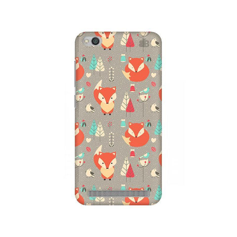 Foxy Pattern Xiaomi Redmi 5A Phone Cover