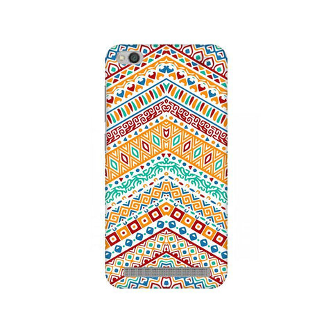 Wavy Ethnic Art Xiaomi Redmi 5A Phone Cover