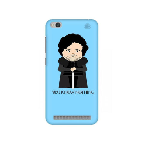 You Know Nothing Xiaomi Redmi 5A Phone Cover