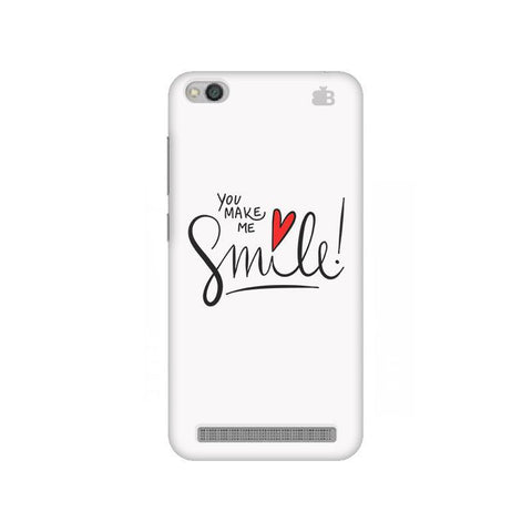 You make me Smile Xiaomi Redmi 5A Phone Cover